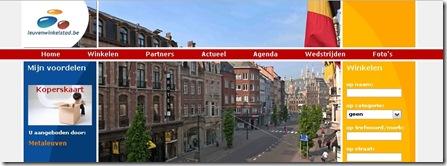 Leuven winkelstad