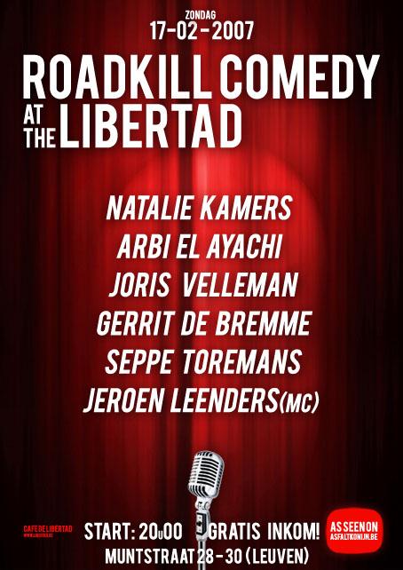 Libertad comedy-avond