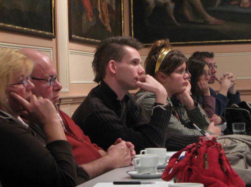 Werkvergadering Leuven in scène