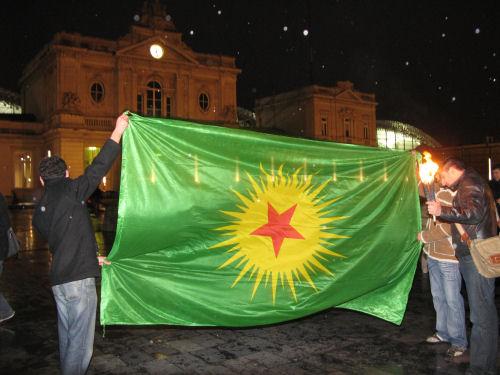 Koerdische vlag