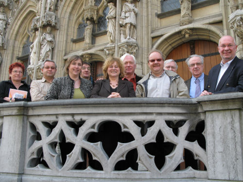 persconferentie Leuven in Scène - volledige ploeg