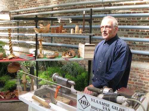 18de dag van het park: ambachtelijk houtsnijwerk