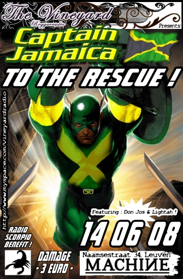 Captain Jamaica to the rescue