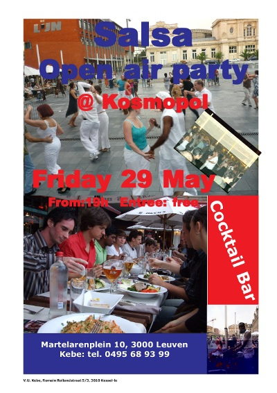 Open Air Salsa Party - 29 mei 2009