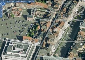 Oude Markt bij Bing Maps
