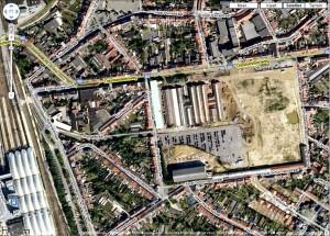 Kessel-Lo bij Google Maps