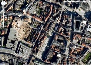 Oude Markt bij Google Maps