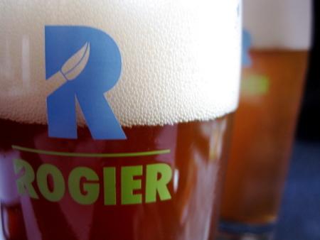 Het nieuwe bier genaamd Rogier.