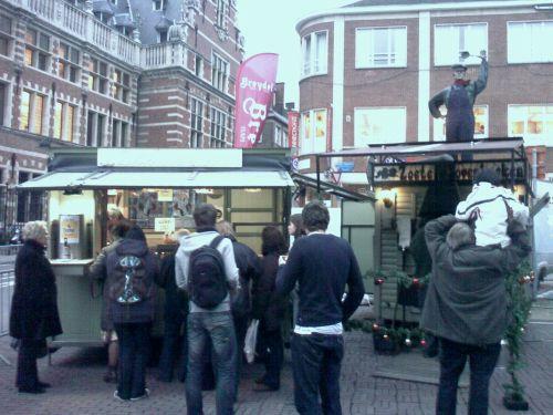 zoete ovenkoeken op de Leuvense Kerstmarkt