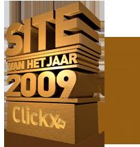 Logo Site Van Het Jaar 2009 (Clickx wedstrijd)