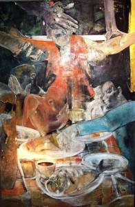 Het Laatste Avondmaal door Julia Peeters