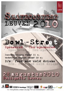 Flyer Skatecontest 2010