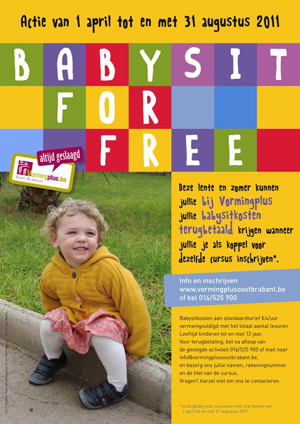 Babysit for Free van Vormingplus Oost-Brabant « Leven in Leuven