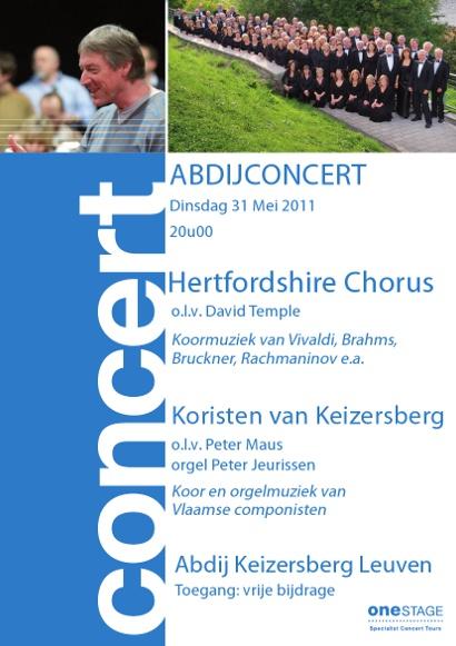 Abdijconcert Keizersberg Hertfordshire Chorus