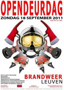 opendeurdag brandweer leuven zondag 18 september 2011