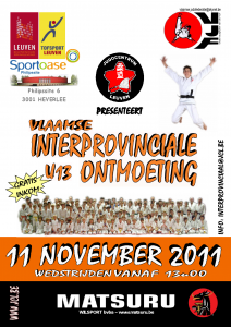Judo Interprovinciale Ontmoeting 2011 Leuven Sportoase
