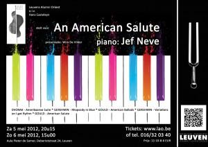 Leuvens Alumni Orkest met An American Salute