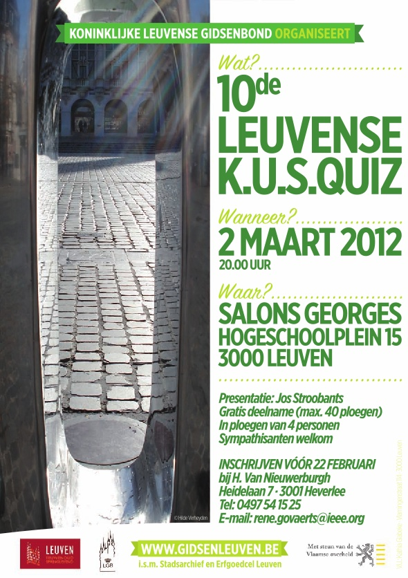 Leuvense Ken-Uw-Stad quiz van de Leuvense gidsenbond
