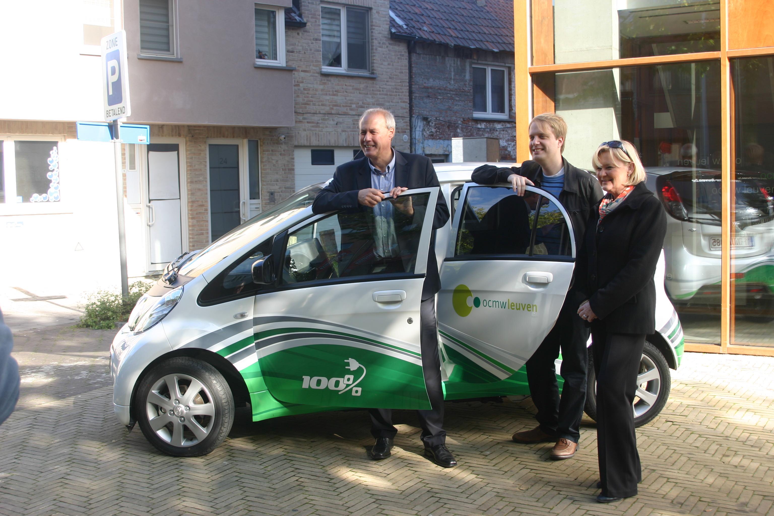 OCWM Leuven neemt elektrische auto in gebruik ? Leven in Leuven