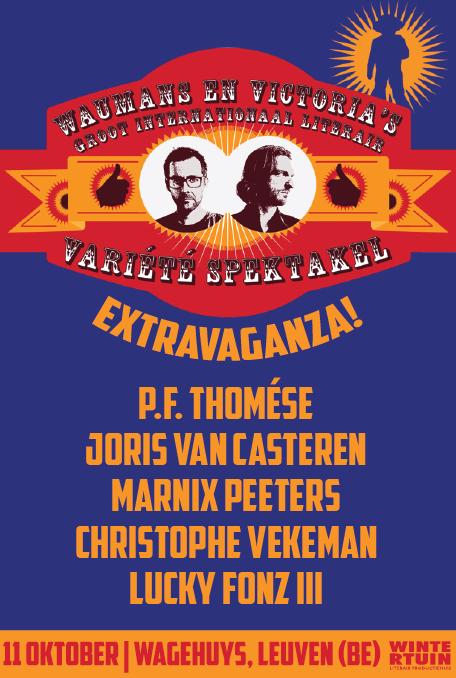 Waumans & Victoria Groot Literair Variété Spektakel