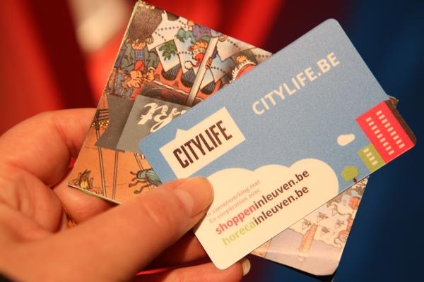 CityLife Leuven spaarkaart