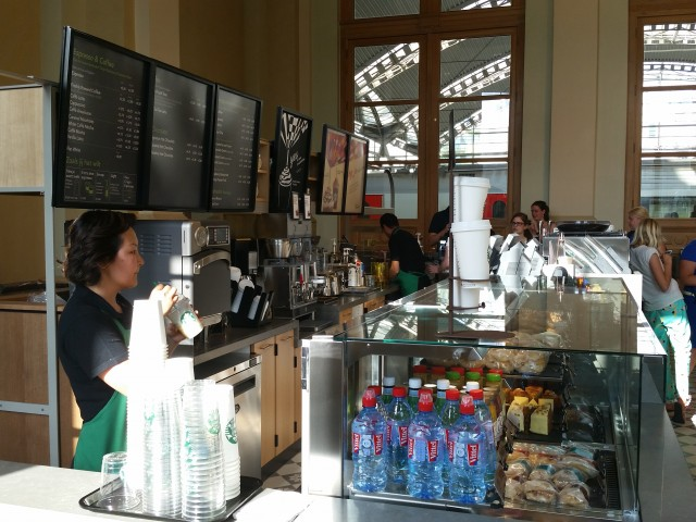 Starbucks Leuven station: toog 3
