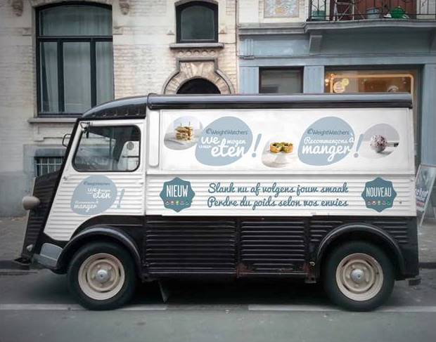 Foodtruck foto NL