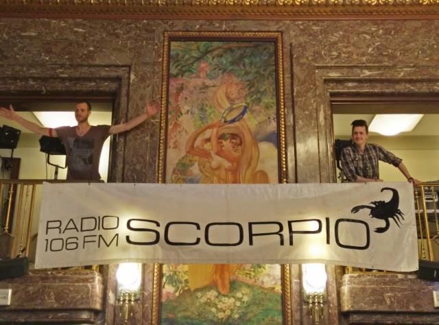 Radio Scorpio in de nok