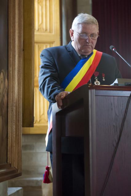 De burgemeester van Cristian