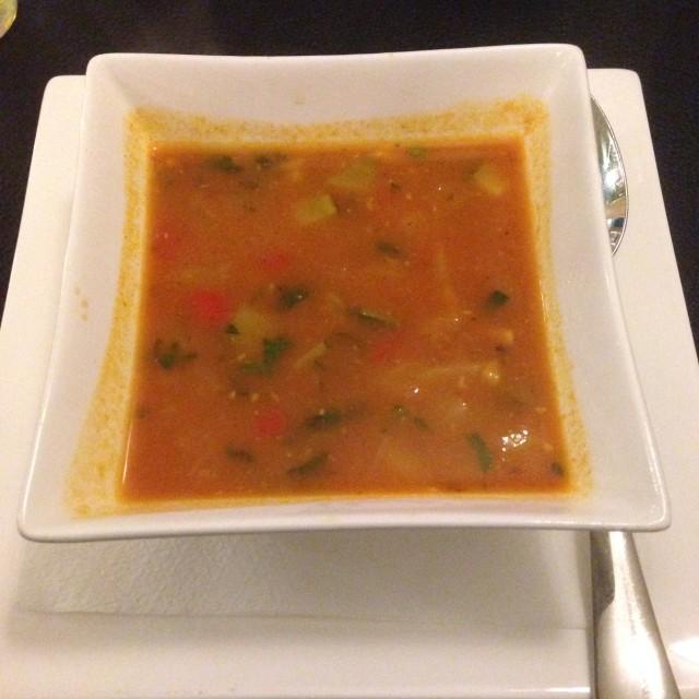 Masalatop soep