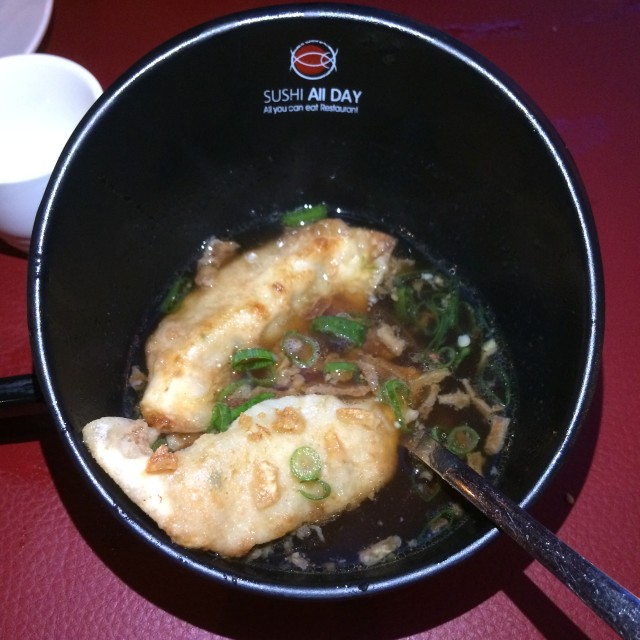 gyoza soep