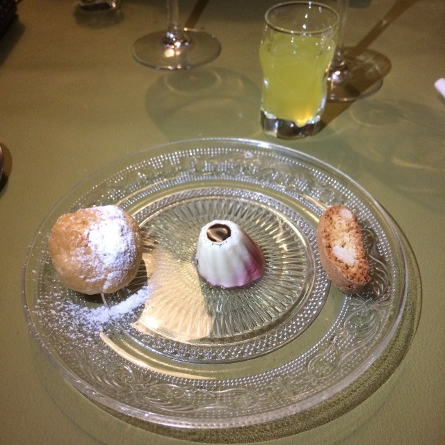 desserts met limoncello